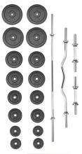 Činkový set TRINFIT PREMIUM XL kovový 100 kg